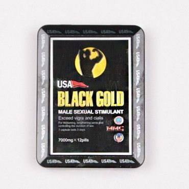 Препарат для потенции USA Black Gold 10 таб.